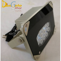 Faretto Illuminatore a 12 LED Infrarossi IR