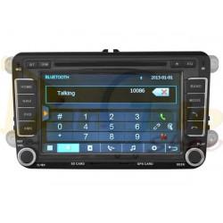 Autoradio 2din Navigatore VOLKSWAGEN SEAT DVD CD GPS USB DVBT