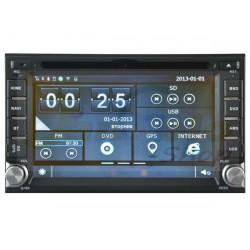 Autoradio 2din Navigatore UNIVERSALE NISSAN DVD CD GPS USB DVBT