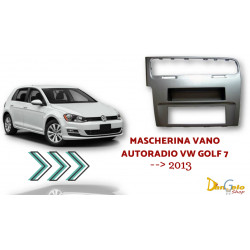 Mascherina Autoradio 1din VW Golf 7