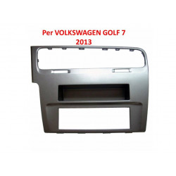 Mascherina Autoradio 1din Volkswagen Golf 7