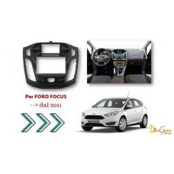Mascherina Autoradio 2din Ford Focus