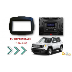Mascherina Autoradio 2din Jeep Renegade