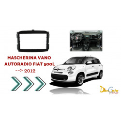 Mascherina Autoradio 2din Fiat 500L
