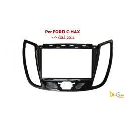 Mascherina Autoradio 2din Ford C-max