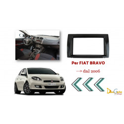 Mascherina Autoradio 2din Fiat Bravo
