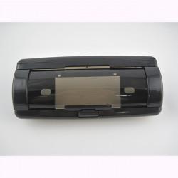 mascherina adattatore stereo 1 din per barca nero