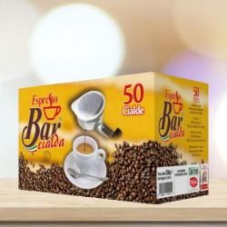 50pz cialde caffè in carta filtro 44 ese Espresso Bar