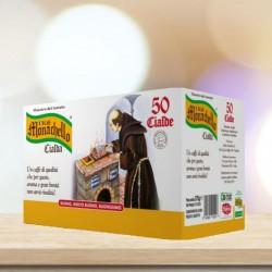 50 Cialde filtro carta Ese 44mm Caffè Monachello