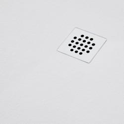 Piatto Doccia Nilo filo pavimento Resina Gelcoat Spessore 2,6 mm Bianco