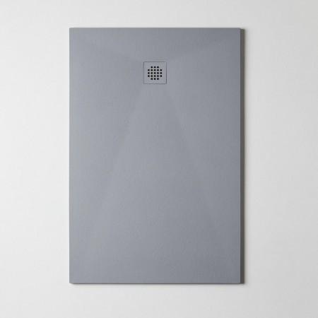 Piatto Doccia in Resina effetto marmo Gelcoat 2,6 mm Ultra Slim Nilo Grigio